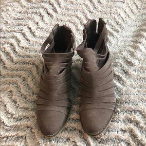 Brown Carlos booties